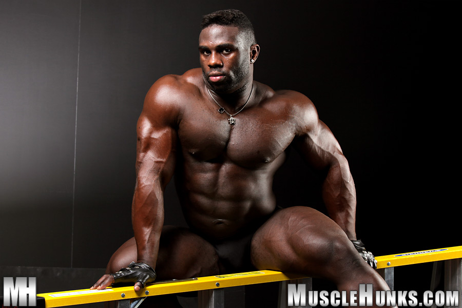 Man nude black muscle you migraine today?