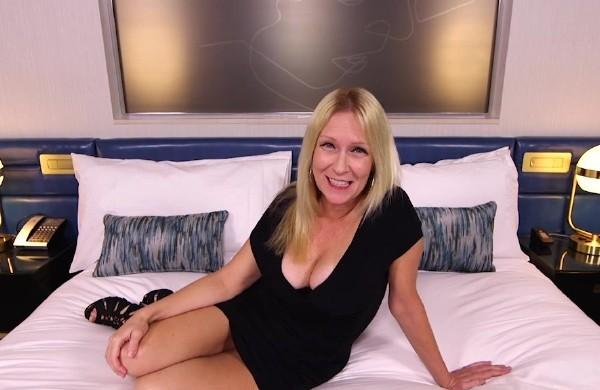 adria gorgeous blonde milf first timer mompov com porn