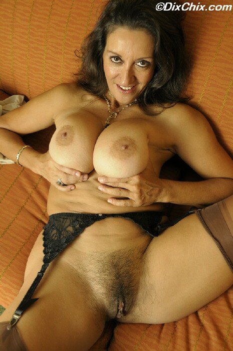 Mature hairy nude