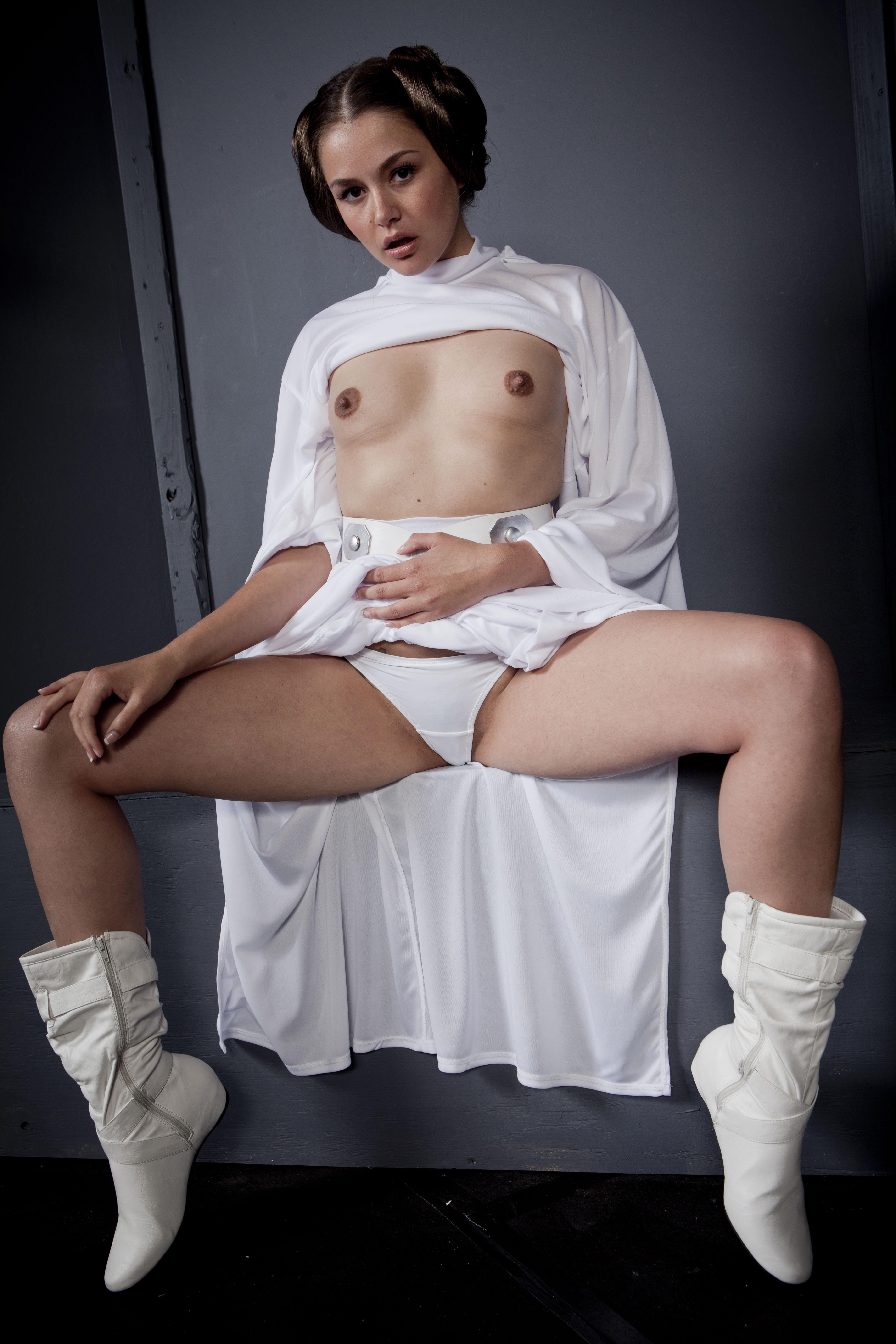 Allie Haze Prinzessin Leia