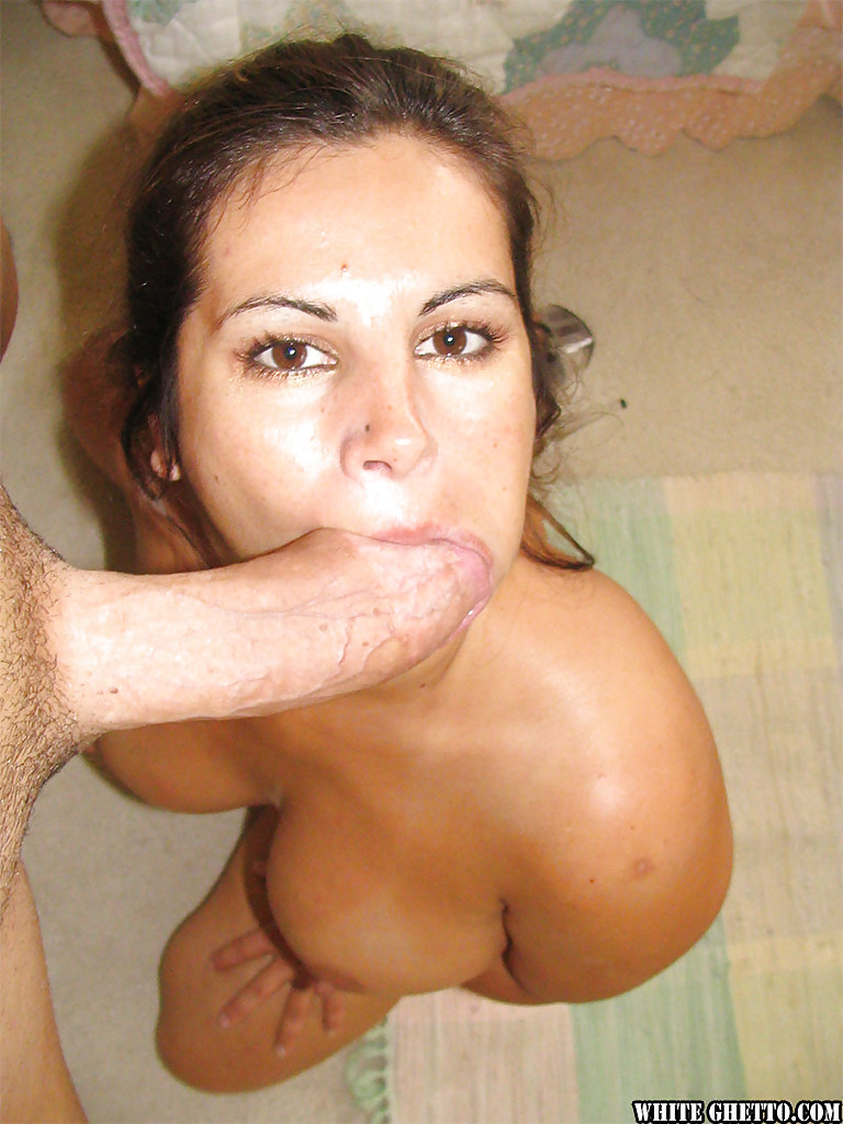 Blowjob swallowing ametue words... super
