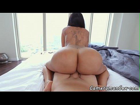 Big Ass Latina Riding Bbc