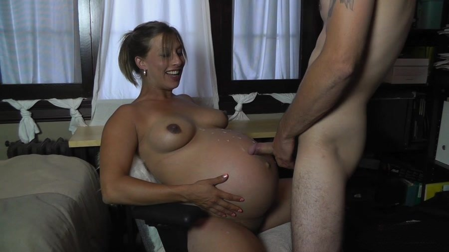 Big Pregnant Belly Fuck