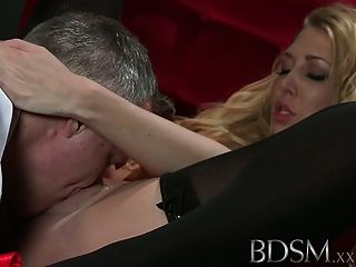 bdsm big breasted sub loves sensual hardcore treatment 1