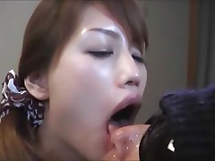 comfort! absolutely not bukkake loving babe gets cum blasted excited too with this