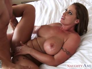 beauty girlfriend eva notty gets big tits fucked 2