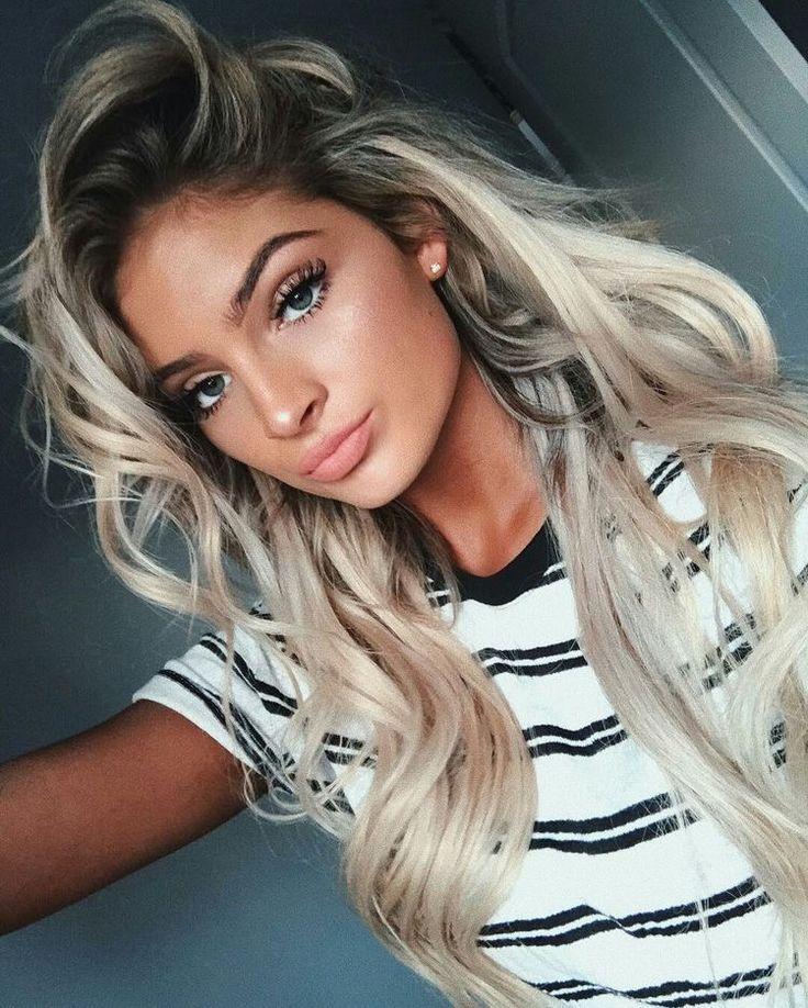 best blonde hair makeup ideas on pinterest makeup