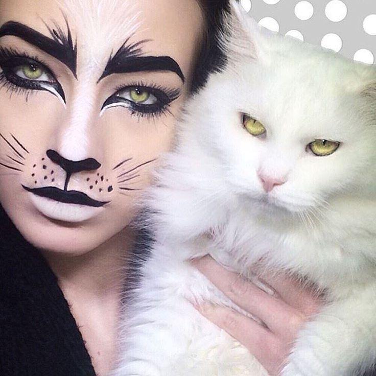 best cat makeup ideas on pinterest cat halloween makeup diy 1