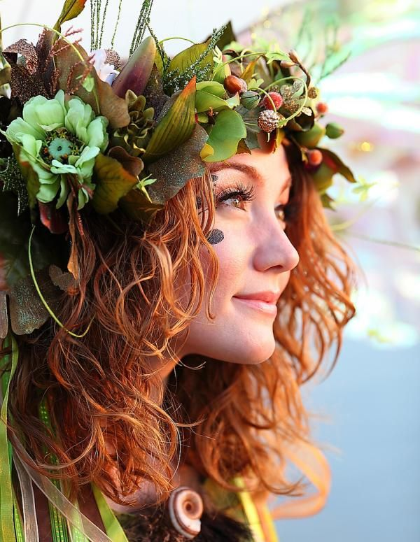 best floral headpieces images on pinterest fall beauty