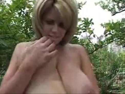 big blond mature with saggy tits gets cock min