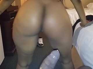 Big Black Naked Booty Twerking