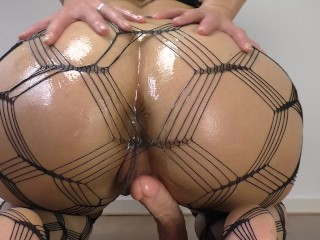 Consider, that ass thick oiled riding dildo wife sexy seems remarkable