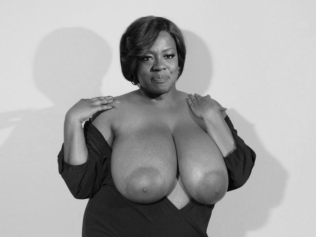 Fuck my big black tits
