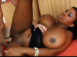 black busty queen maserati squeezes big white cock between her 1