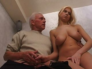 Girl And Old Men - old man a woman and young black guy tmb - MegaPornX