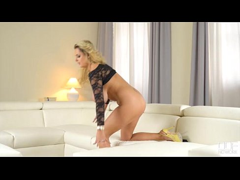 blonde big tits british bombshell seduction 6