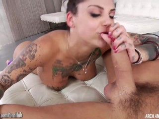 bonnie rotten has her ass reamed out raw while squirting