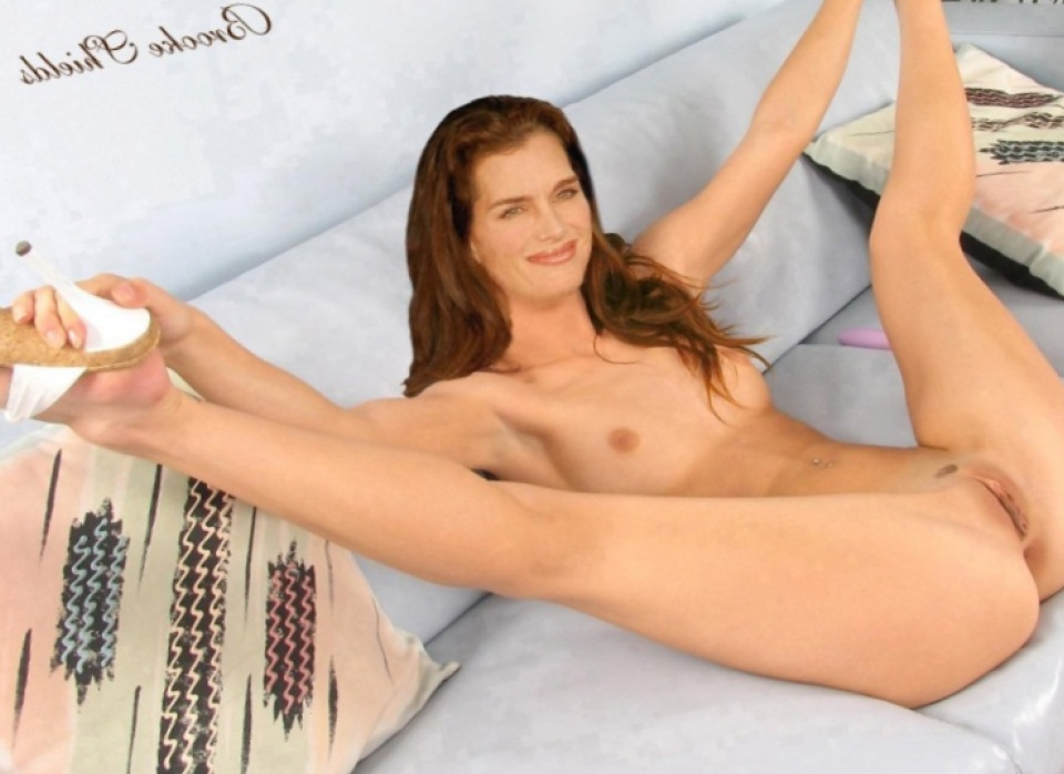 Brooke Shields Hairy Pussy