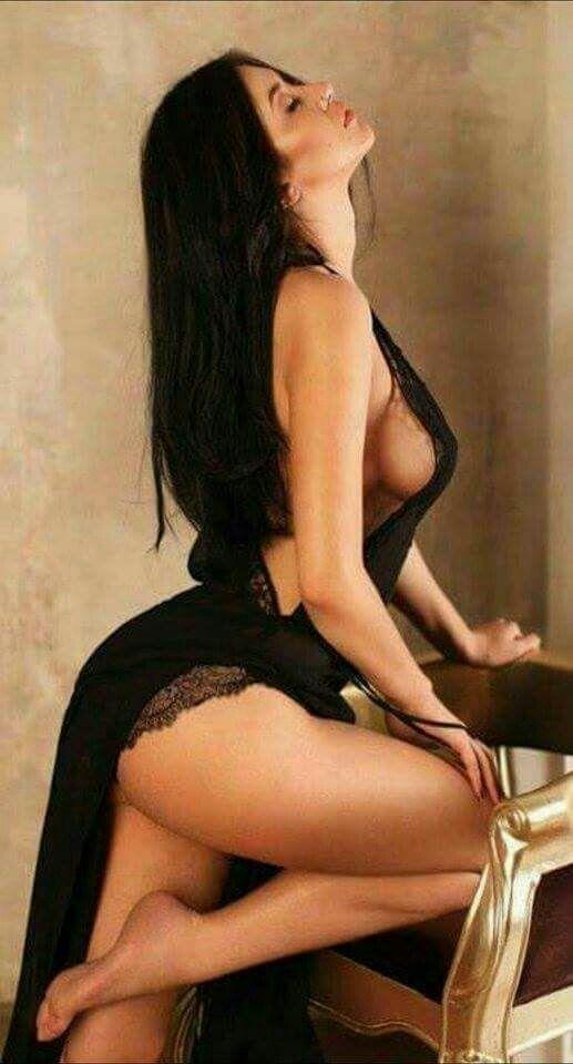 brunette beauty hair beauty perfect legs sensual seduction long dresses black lingerie sexy women girls ravens