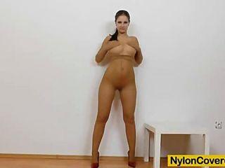 Nylon Panties Upskirt - voyeur panty hose turquoise panties 1 - MegaPornX