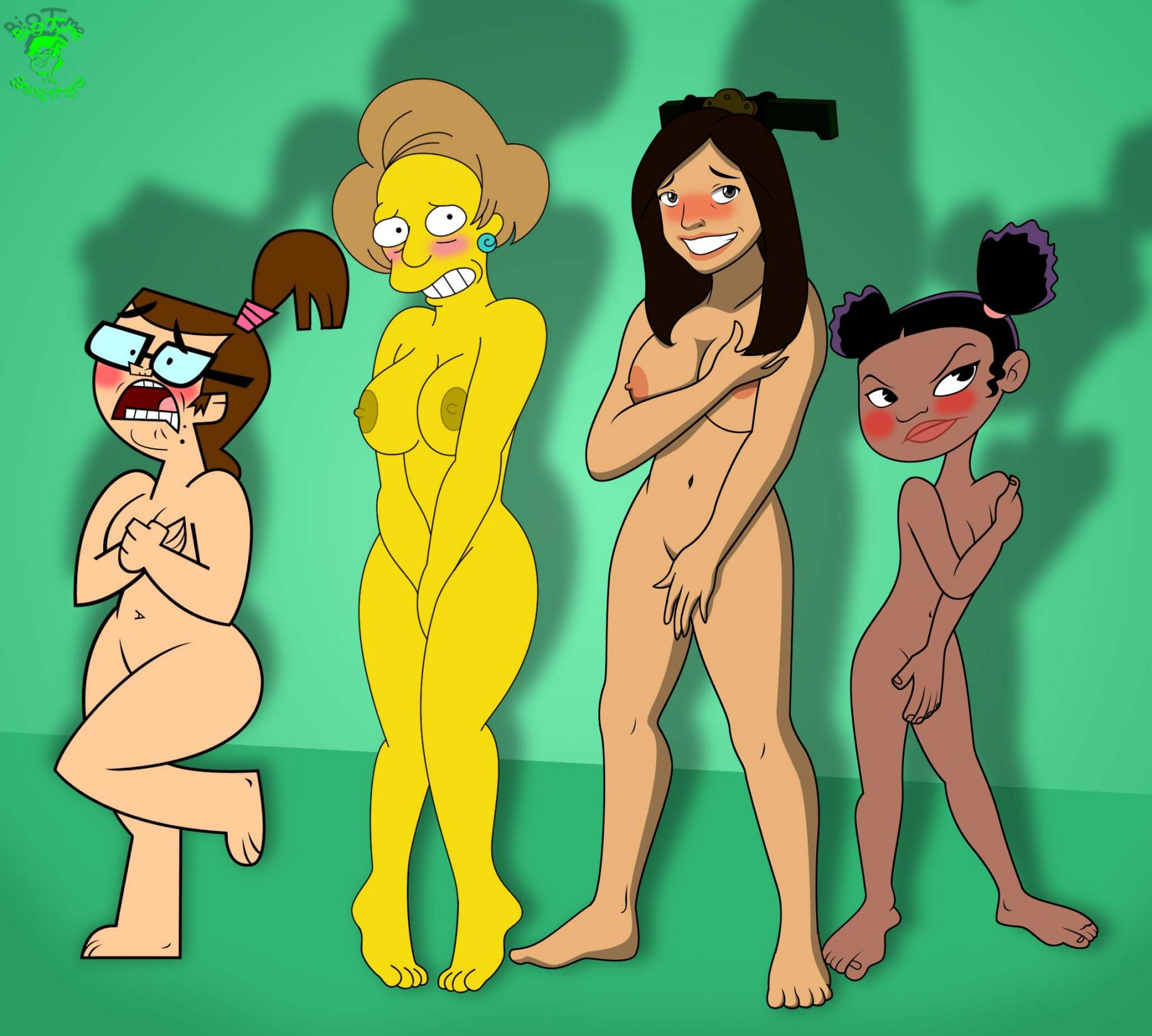 100 Pictures of Famous Cartoons Naked