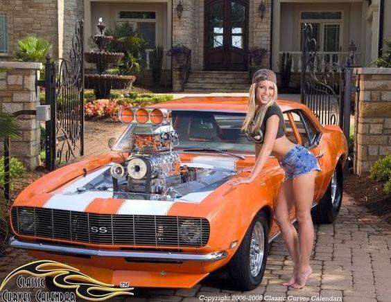 car girls beauty hoods models muscle cars badass engine biking trucks