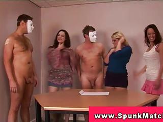 Party Handjob Cumshot - foreskin handjob with cumshot 1 - MegaPornX