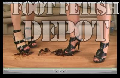 Crush Fetisch Käfer Stiefel