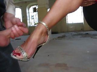 Cum high heels High Heels