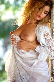 curly haired blonde posing years ago pics xxxdessert