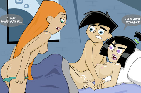 Danny Phantom Cartoon Sex