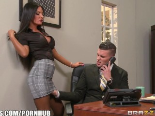 elicia solis gets some office fucking brazzers 1
