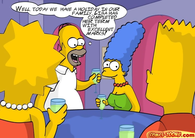 Speaking, simpsons family orgy naked the consider, that you