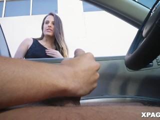 Girl Flashing Cock In Car Tmb 1