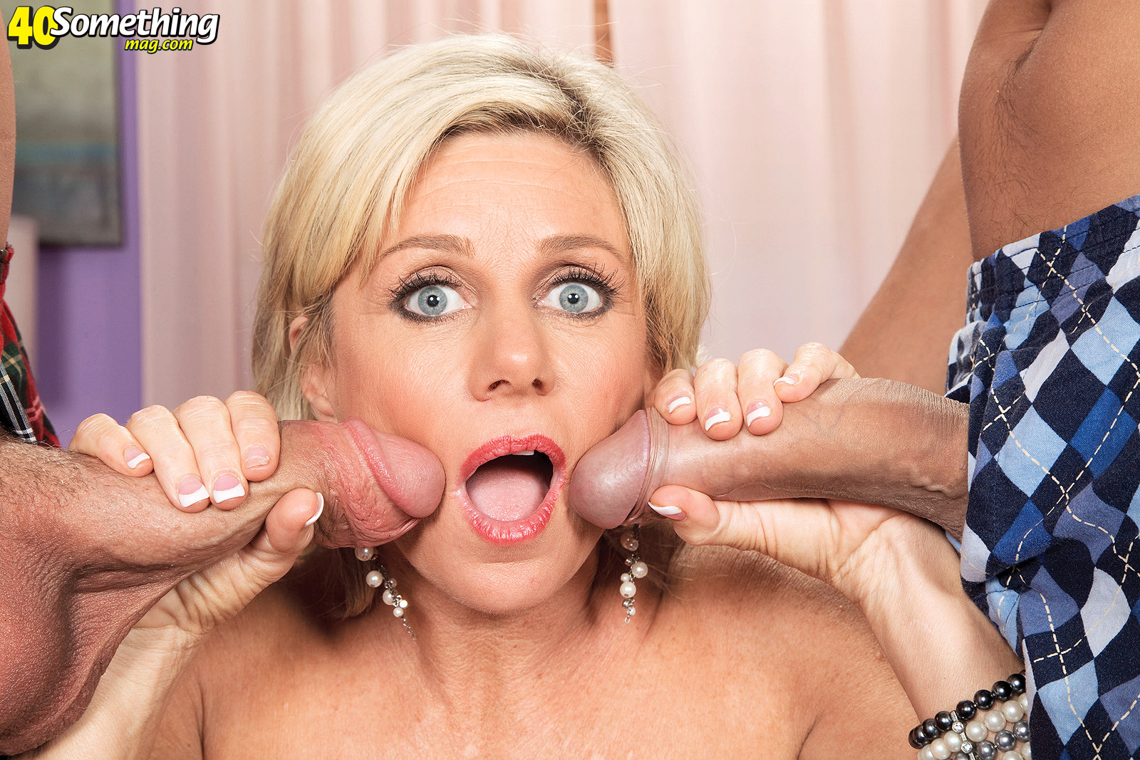 for mature payton hall two cocks are better than one pichunter