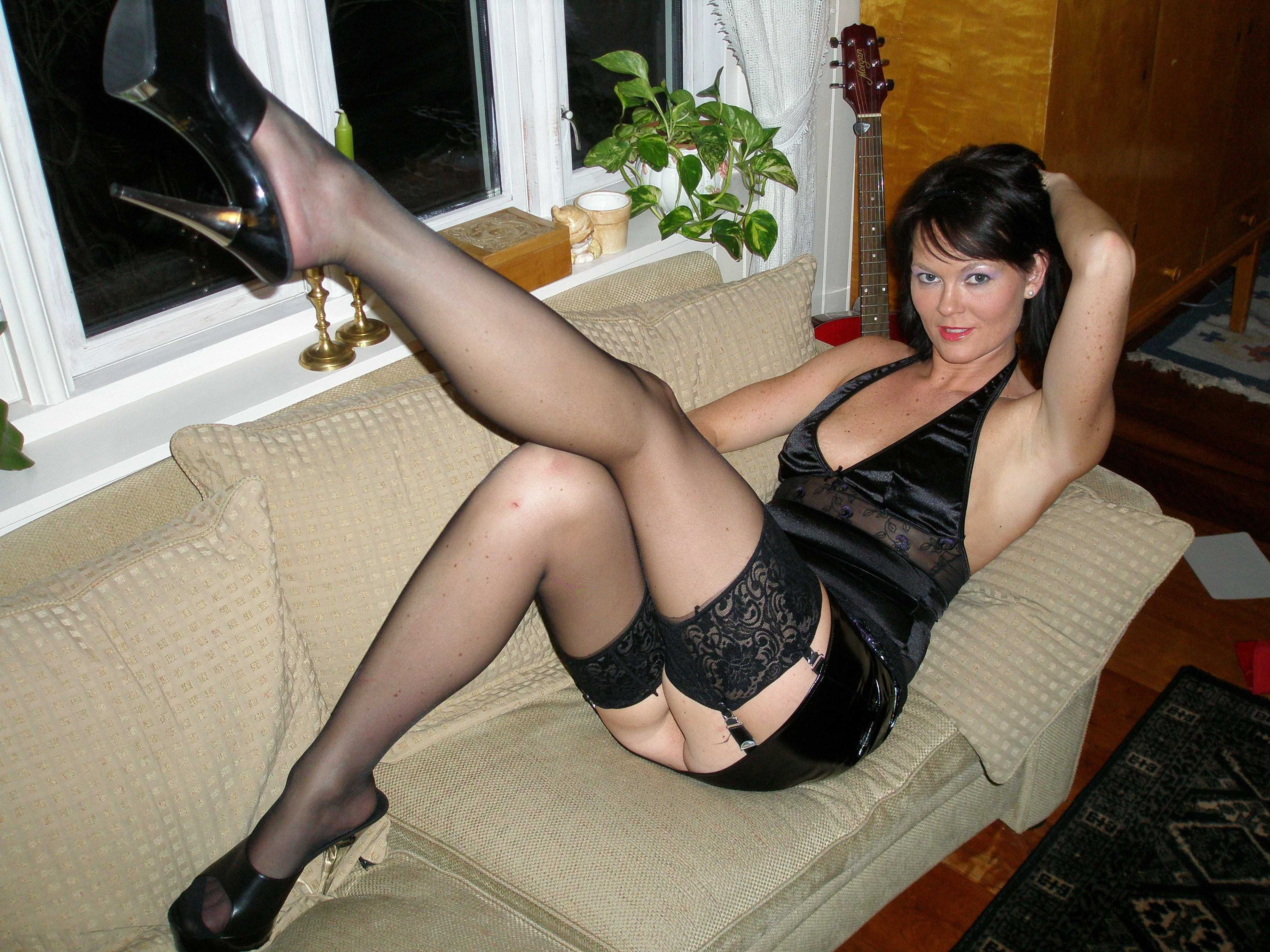 In fucking amatuers mature milf suspenders remarkable, very