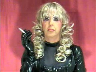 Shemale Smoking Fetish Mistress - mistress jessi palmer smoking latex fuck - MegaPornX