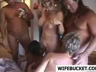 Hotel in room mature at swingers orgy consider, that
