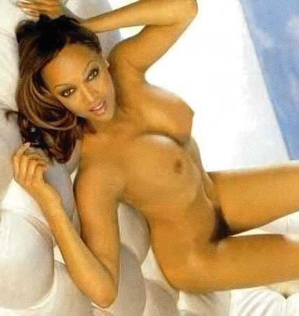 Tyra banks butt naked