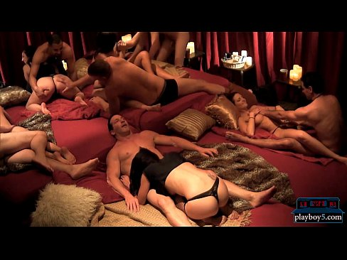fresh amateur couple tries out swinging with other couples 1