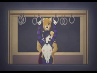 furry yiff fox and dog short animation