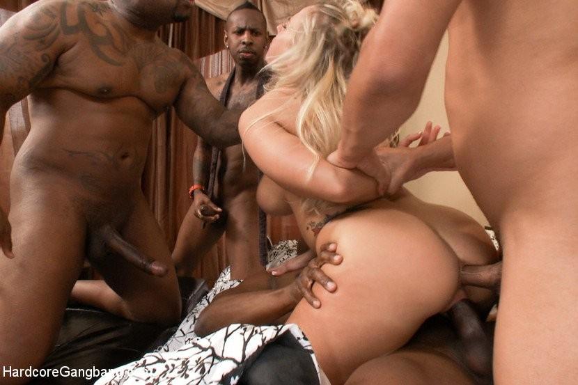 gang bang blonde porn other videos - MegaPornX