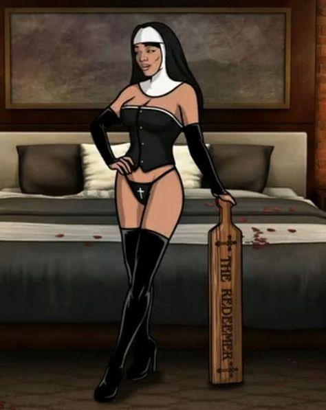 Archer lana naked