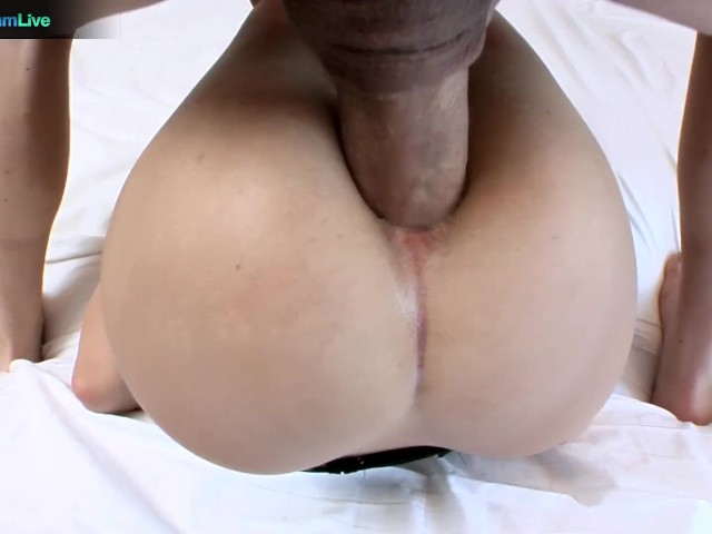 gorgeous blonde aubrey adams teases to get anal fucked
