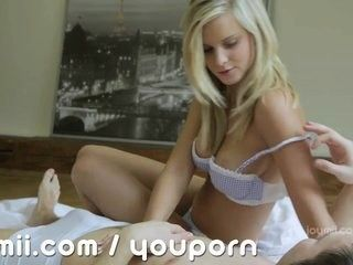 gorgeous blonde marry queen fucks her way to a creampie video