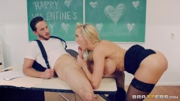 gorgeous blonde nurse revives hung patient with her sexual skills 4
