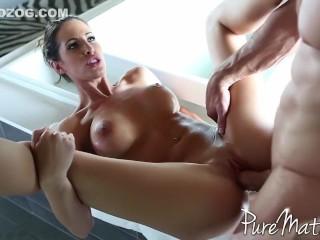 gorgeous kortney kane gets her perfect body fucked 1