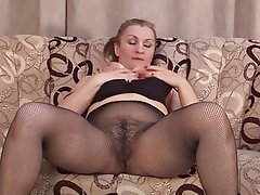 Mature Hairy Lingerie Porn - hairy amateur mature in lingerie fucked hairy hardcore ...