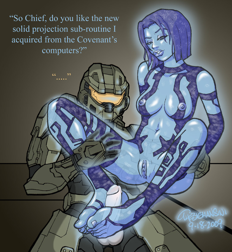 Master chief and cortana have sex mega porn pics