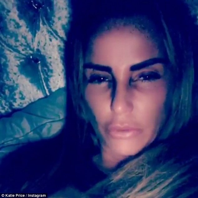 happy christmas everyone katie price appeared in good spirits as she took